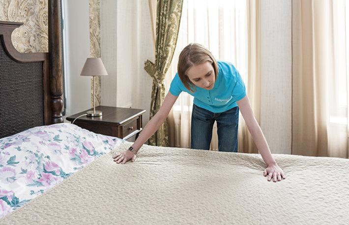 Hekpstar учит, как заправлять постель как в пятизвездочном отеле
