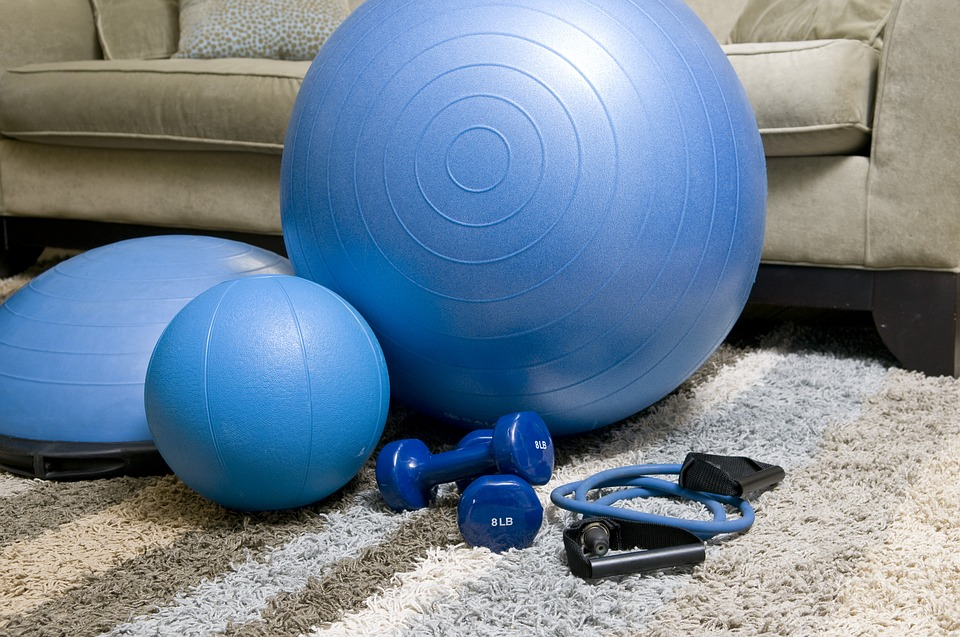 Устраиваем дома фитнес-уголок