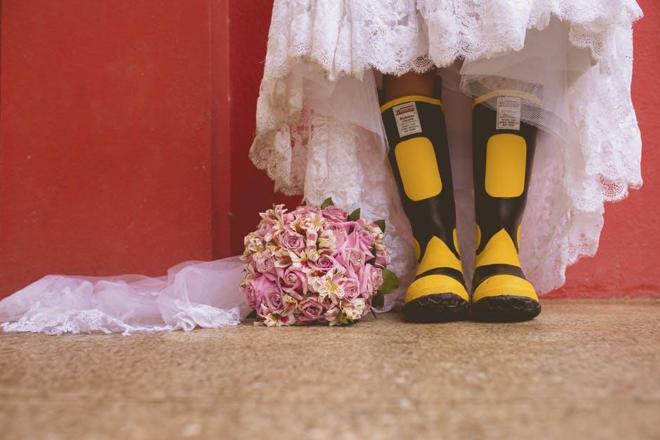 Спасаем свадебное платье